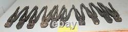 10 vintage AMP crimp crimping electrical crimper vintage hand tool lot A1