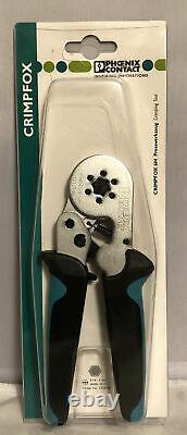 1212046 Phoenix Contact Tool Hand Crimper 10-24Awg Side