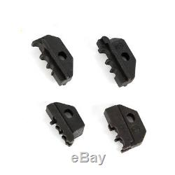 12Ton Crimping Tool Terminal Ratchet Plier Crimper Cable Wire Hand Tool & 4 Dies