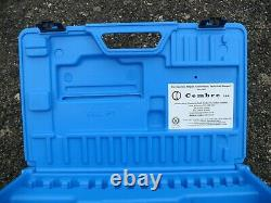 2014 Cembre HT51, two speed, hand hydraulic crimper, crimping tool and case