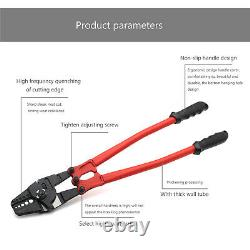 24 Hand Swager Swaging Crimping Tool for Wire Rope Cable Swage 1/16- 3/16