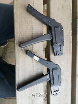 2x Molex Ratchet Hand Crimp Tools for 22-28AWG 18-24AWG