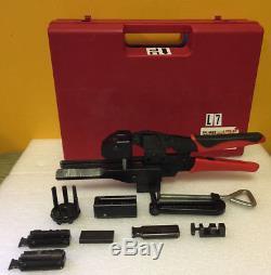 3M 3829 (902129) MDR Hand Crimp Tool Kit. Complete + Hand Press. Tested