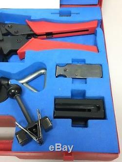 3M FE-5100-0088-1 MDR 3829 Crimper Hand Press Tool Kit Terminator Mini D Ribbon