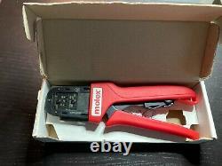 638190000 Crimp Tool 30 20 AWG Molex Hand Tool Crimper With Original Box