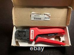 638190100 Crimp Tool 30 24 AWG Molex Hand Tool Crimper With Original Box