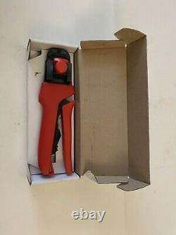638190100B Crimp Tool 30 24 AWG Molex Hand Tool Crimper With Original Box