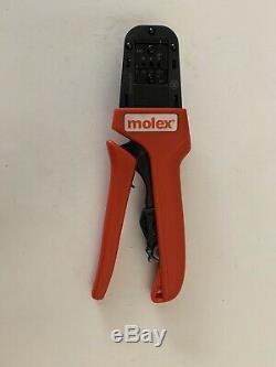 638190900C Crimp Tool 16 24 AWG Molex Hand Tool Crimper