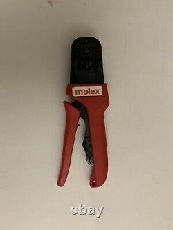 638190900H Crimp Tool 24-16 AWG Molex Hand Tool Crimper