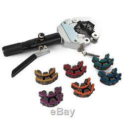 71500 A/C Hydraulic Hose Crimper Kit Air Conditioning Repair Crimping Hand Tools