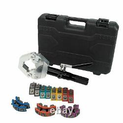 71500 A/C Hydraulic Hose Crimper Tool Kit Hand Tool Crimping Hose Fittings Kit
