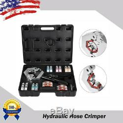 71500 A/C Hydraulic Hose Crimper Tool Kit Hand Tool Crimping Set Hose Fittings