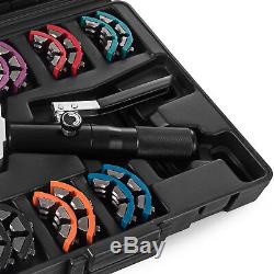 71500 Hydraulic A/C Hose Crimper Tool Kit Hand Tool Crimping Set Hose Fittings