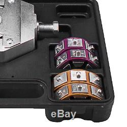 71550 Manually Operated A/C Hose Crimper Tool Kit With 4 Dies New Hand Crimping