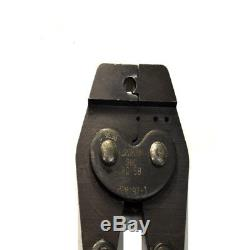 AMP 220187-1 50-Ohm BNC Controlled Ratchet Hand Crimp Tool Crimper RG-58