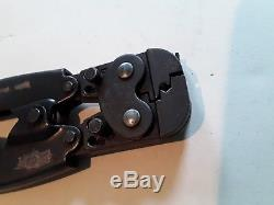 AMP 525690 P. I. D. G Hand Crimp Tool 20-18 Wire Size. GOOD CONDITION. MADE IN USA