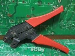 AMP, Berg, Molex Crimping Hand Tools, Lot of 6
