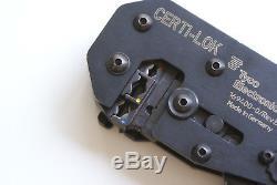 AMP Certi Lok 169400 -0 Crimping tool Crimper Crimpzange Handzange