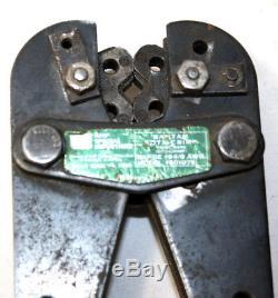 AMP Crimper 601075 Bantam Rota Crimp Hand Tool #8-1/0 AWG
