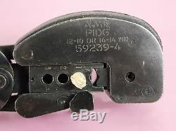 AMP HEAVY HEAD HAND CRIMPING TOOL 59239-4 With CAL STICKER 10/21/13 TO 10/19/15