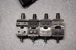 AMP Hydraulic Hand Crimp Tool & Terminyl & AMPLI-NYL DIE Sets 8-C 4-C 2-C-6-C