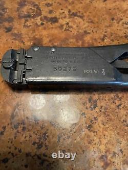 AMP Model 59275 Hand Crimping Tools AirCraft Aviation Crimper