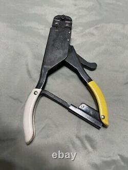AMP Model 59275 Hand Crimping Tools AirCraft Aviation Crimper T41813 G/Condition