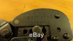 AMP P. I. D. G TYCO TE Connectivity 59287-2 full rachet hand crimp tool