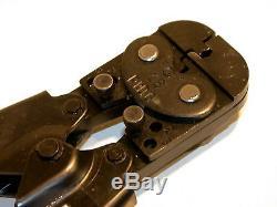 AMP PIDG LANCELOK Terminal Hand Crimping Crimp Tool 16 AWG 69258 CALIBRATED