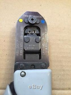 AMP TE CONNECTIVITY 91505-1 Crimp Tool, Hand, AMP 24-16AWG Circular Contacts