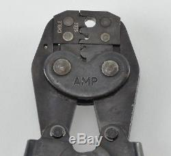 Amp 220061-1 Hand Ratchet Crimp / Crimping Tool for SMA Series 50-Ohm Connectors