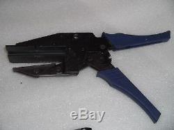 Amp 543265-1 Hand Latch Crimp Crimper Tool With Accessories