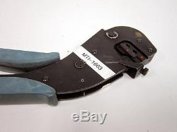 Amp 58078-3 Te Connectivity Hand Crimp Tool Crimping Tool With 58079-3