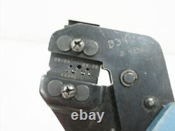 Amp 58495-1 Die Hand Crimp Tool 16 28 Awg & 354940-1 Frame