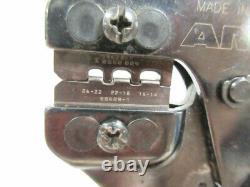 Amp 58628-1 Die 14 26 Awg & 354940-1 Frame Hand Crimp Tool B