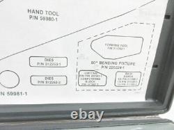 Amp 59980-1 Hand Crimp Tool Blindmate N Sma Tnc To Semi-rigid Coax 312253-1 Die