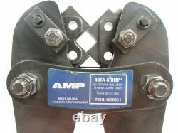 Amp 600850-1 Rota-crimp Hand Crimp Tool Solistrand 8 4/0 Awg Tyco