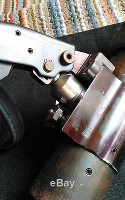 Amp Hydraulic Hand Crimp Tool #59974-1 With Terminyl C Die Set, Excellent