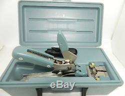 Amp No. 230971-1 Picabond Ratchet Hand Crimper Tool, Crimp Height Gauge & Case