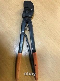 Amp P. I. D. G. 576781 Stratotherm Hand Crimp Tool 16 Orange Grips