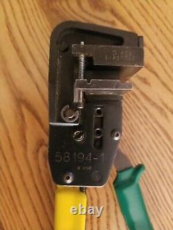 Amp / Tyco / TE 58194-1 (Certi-Lok) SDL Hand Crimping Tool & 58261-1, 4 Pos Die
