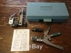 Amp VS-3 230971-1 Hand Splicing Copper Cable Tool Picabond Crimp Tool & 3rd hand
