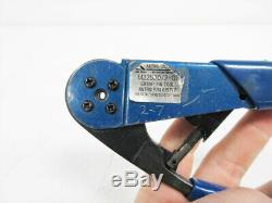 Astro Tool 615717 Hand Crimp Tool M22520/2-01 Crimping Black Handle