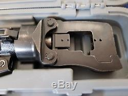 BM 182P hydraulic hand compression crimping tool + 6 dies 10 SIZE 50 kN