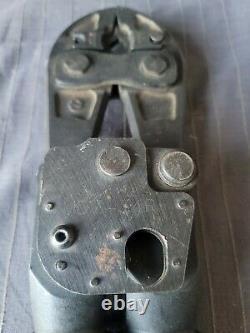 BURNDY MD7- 34R Compression Crimper Hand Tool, Crimp Force 9000 lbs