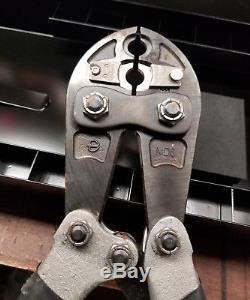 BURNDYMD6 7 HYTOOL HAND-OPERATED COMPRESSION CRIMPER TOOL qty 10 W Die Lot Box