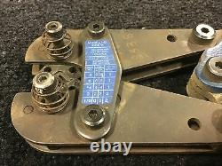 Bantam Rota-crimp Hand Crimper Tool 601075 #8-1/0 Awg