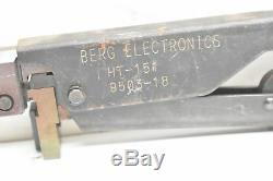 Berg Electronics HT-151 9502-18 Hand Crimper/Crimping Tool