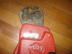 Burndy MD6-6R Crimp Tool ratcheting hand Tool