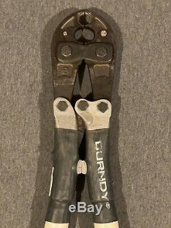 Burndy MD6-8 Electrical Hand Crimping Tool